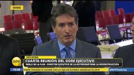"""De la Flor: """"preocupa situación de una empresa que ganó la buena pro"""""""