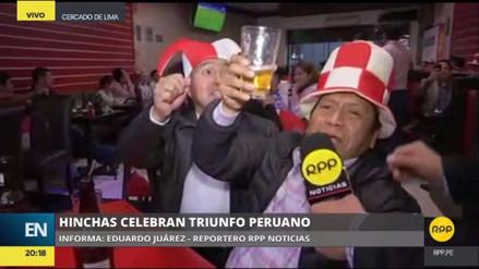 La Policía recomendó a hinchas celebrar con responsabilidad triunfo de la selección