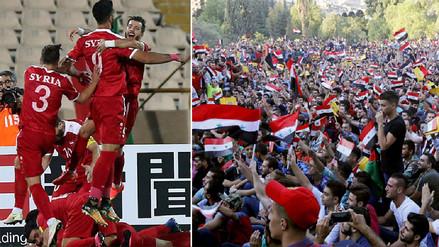 Así se vivió en Damasco el agónico gol de Siria que lo acerca al Mundial