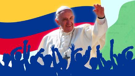 Infografía: Colombia a la espera del Papa Francisco