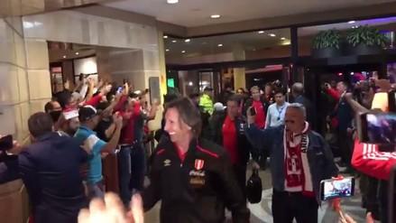 Así despidieron a la Selección Peruana de su concentración en Quito
