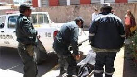 Yunguyo: albañil muere luego de recibir una descarga eléctrica