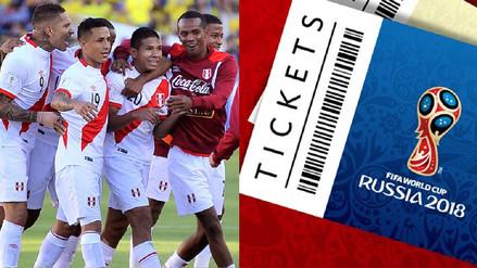 ¿Perú en Rusia 2018? Cuánto cuestan las entradas para el Mundial