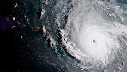 Los satélites muestran cómo se ve el huracán Irma desde el espacio