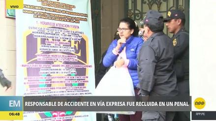 Romina Calisaya fue recluida en el Penal de Mujeres de Chorrillos