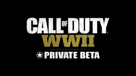 Lo que me dejó la beta cerrada Call of Duty: WWII
