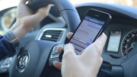 Hablar por celular cuando se maneja es la falta más común en Chiclayo