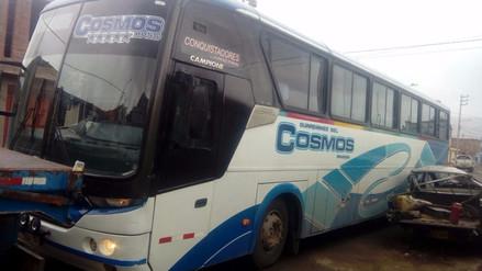 Anciana quedó herida tras ser atropellada por un bus en Cabanillas