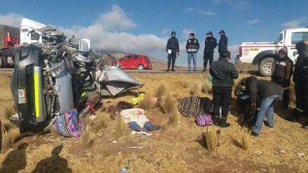Dos muertos dejó accidente de tránsito en la vía Interoceánica