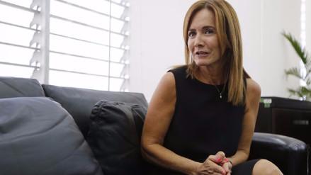 Marilú Martens dijo que el paro de este viernes tiene fines políticos