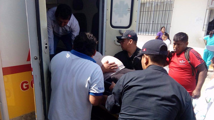 Ocho heridos en accidente de tránsito en Huaraz