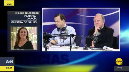 """Patricia García: """"Carlos Moreno no trabaja más para el sector Salud"""""""