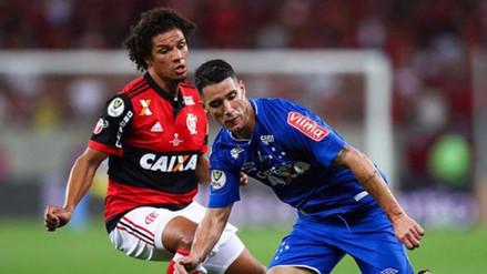 Flamengo empató 1-1 con Cruzeiro en la primera final de la Copa de Brasil