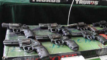 Sucamec inmovilizó 342 armas de fuego en San Martín y Alto Amazonas