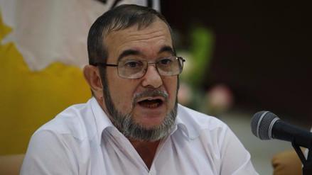 El líder de las FARC pidió perdón al papa Francisco por las muertes que provocó su guerrilla