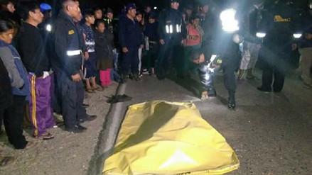 Joven muere tras chocar su moto contra maquinaria pesada en Sechura