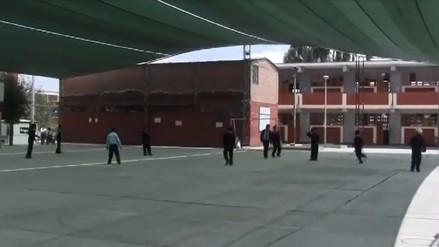 Labores en colegios se cumplieron con normalidad en Arequipa