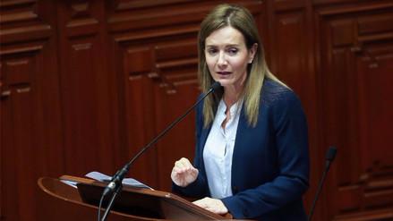 Marilú Martens respondió al pliego interpelatorio del Congreso