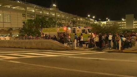 La Policía le disparó a un hombre en el aeropuerto de Miami