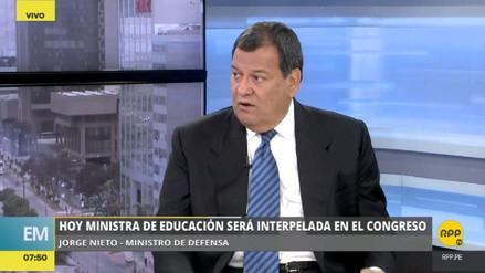 """Jorge Nieto: """"Martens tuvo la fuerza de defender la reforma educativa"""""""