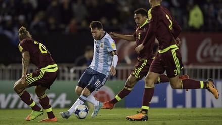Video muestra el sacrificio de Lionel Messi con la camiseta de Argentina