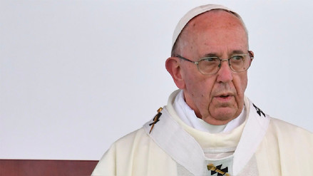 El papa Francisco denunció a los