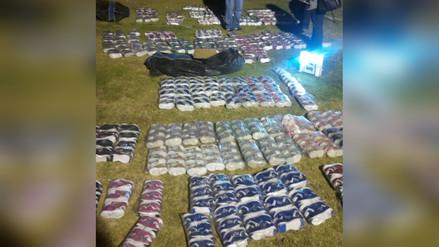 Incautan zapatillas bambas valorizadas en más de 35 mil soles