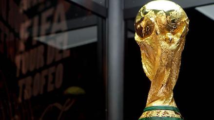 El trofeo de la Copa del Mundo inició su gira internacional