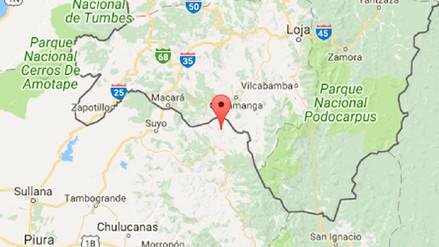 Un sismo de 4,0 grados sacudió Ayabaca esta noche