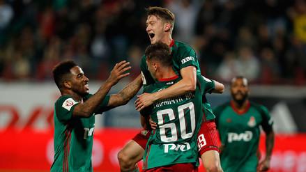 Video | Jefferson Farfán arrancó de titular en el empate del Lokomotiv