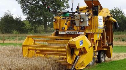 Robots sembraron y cosecharon una hectárea casi sin ayuda humana
