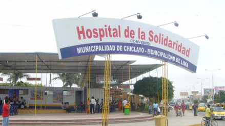 Hospital de la Solidaridad seguirá inamovible en Chiclayo