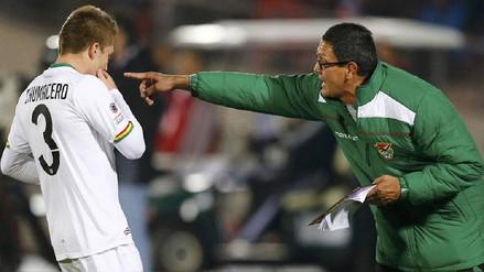 DT de Bolivia fue suspendido por los incidentes en el duelo ante Chile