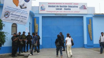 Ugel Santa: descuento a maestros por huelga es obligatoria