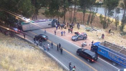 Despiste de ómnibus dejó 32 heridos en Jauja