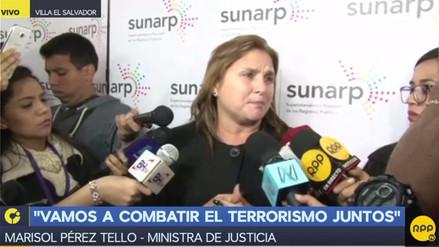 Marisol Pérez Tello sobre liberación de Garrido Lecca: