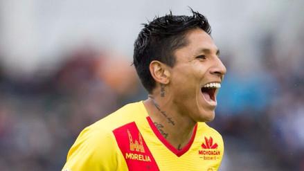 Raúl Ruidíaz apareció nuevamente en el 11 ideal de la Liga MX tras su doblete
