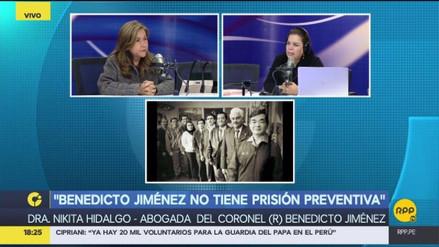 Abogada de Benedicto Jiménez: