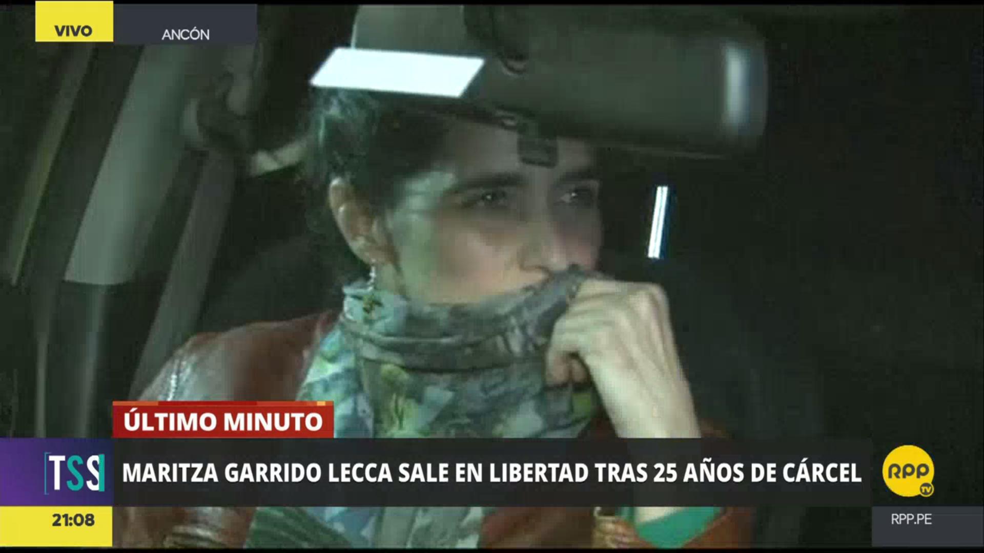 La terrorista Maritza Garrido Lecca saldrá libre esta tarde