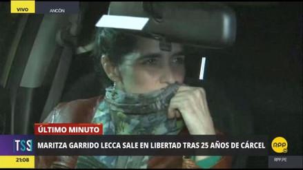 La terrorista Maritza Garrido Lecca dejó la prisión tras 25 años
