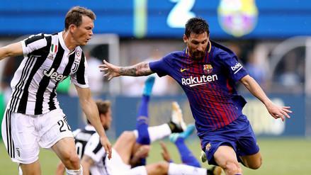 Barcelona recibe a Juventus en el Camp Nou por la Champions League
