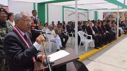Anselmo Lozano dará su último discurso como alcalde