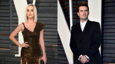 Katy Perry y Orlando Bloom fueron vistos en la playa