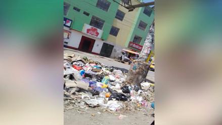 Ica: basura acumulada en diferentes partes de la ciudad