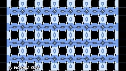 Matemática fácil | Inclinadas o paralelas: ¿Cómo ves las franjas horizontales?