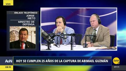 """Jorge Nieto: """"Tenemos un control efectivo del VRAEM"""""""