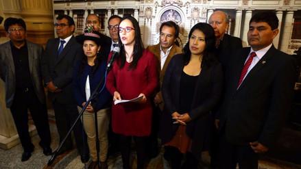Bloque de Nuevo Perú pide ser reconocido como bancada parlamentaria