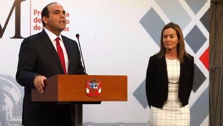 Fernando Zavala pidió cuestión de confianza al Congreso