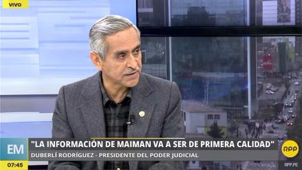 Rodríguez sobre investigación a Toledo: