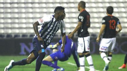 Con doblete de Carlos Ascues, Alianza Lima derrotó a Melgar en Matute